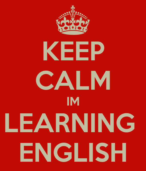 I am learning english?