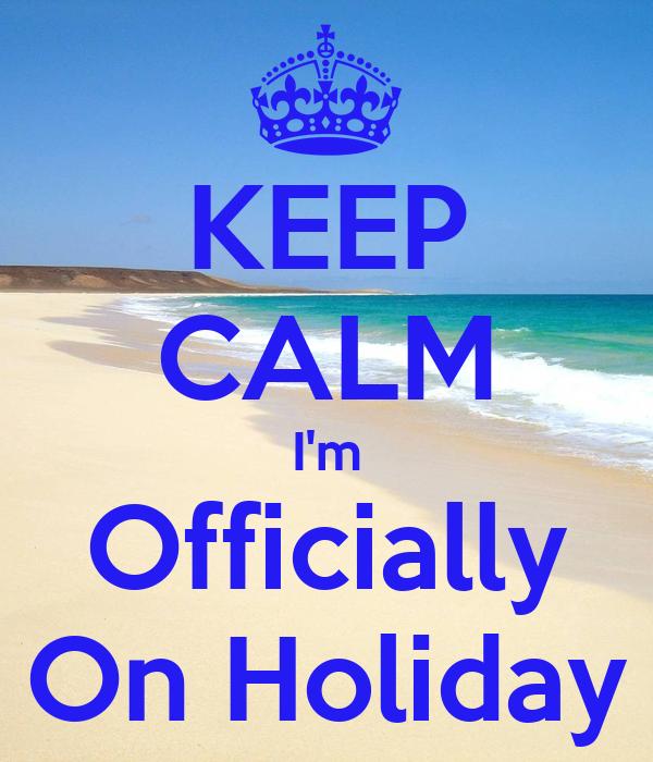 On holiday