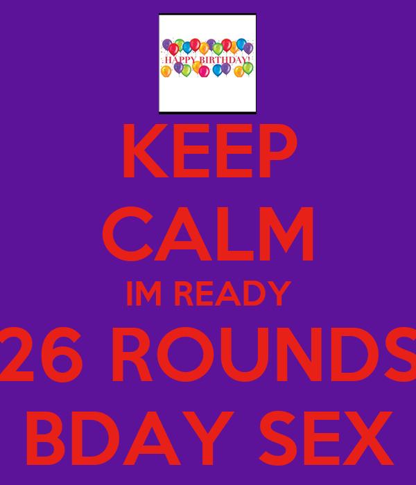 B day sex