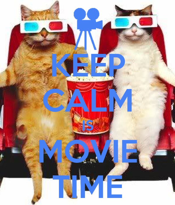 keep calm is movie time poster jefferson keep calmomatic