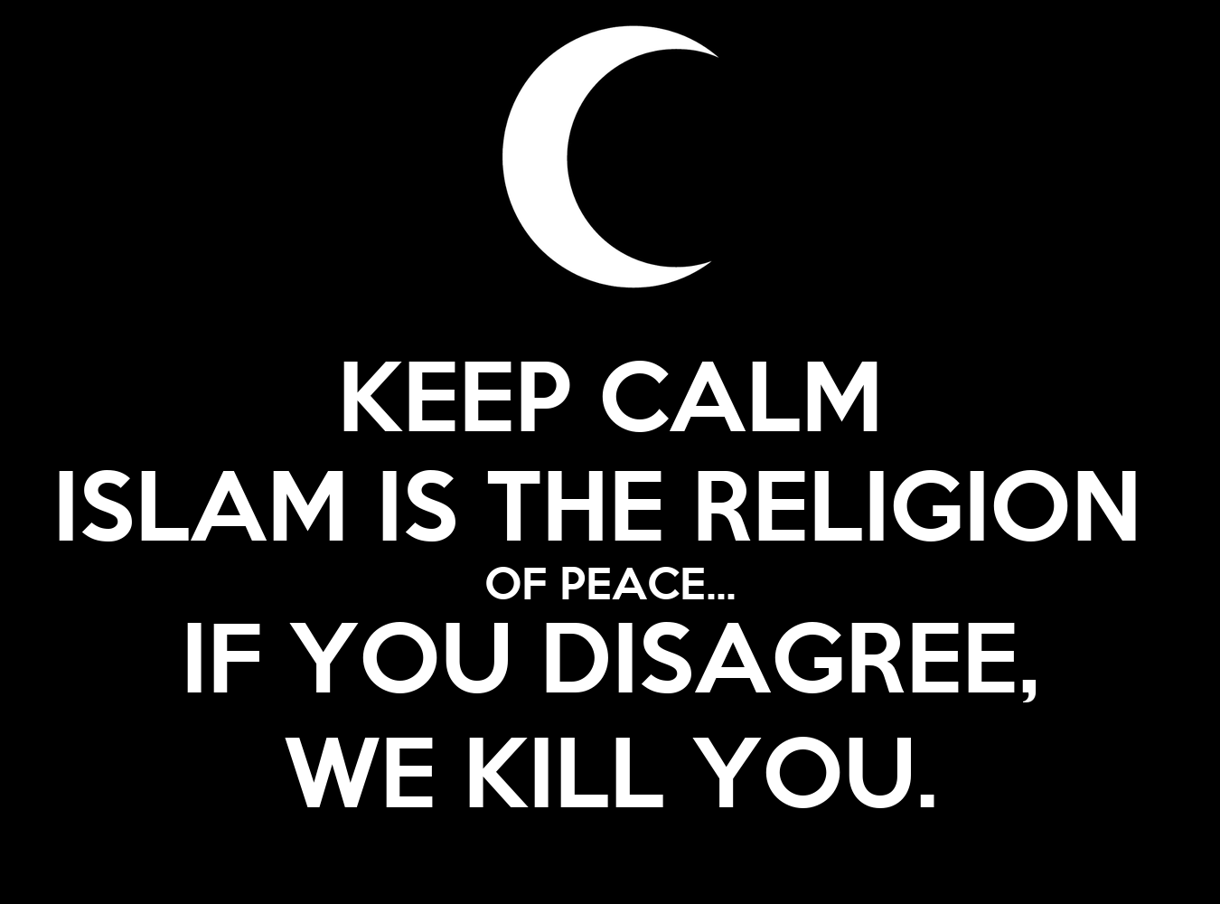 islam is a religion of peace President trump's chief strategist, former breitbart executive steve bannon, once dismissed the notion that islam is a religion of peace, describing it in.