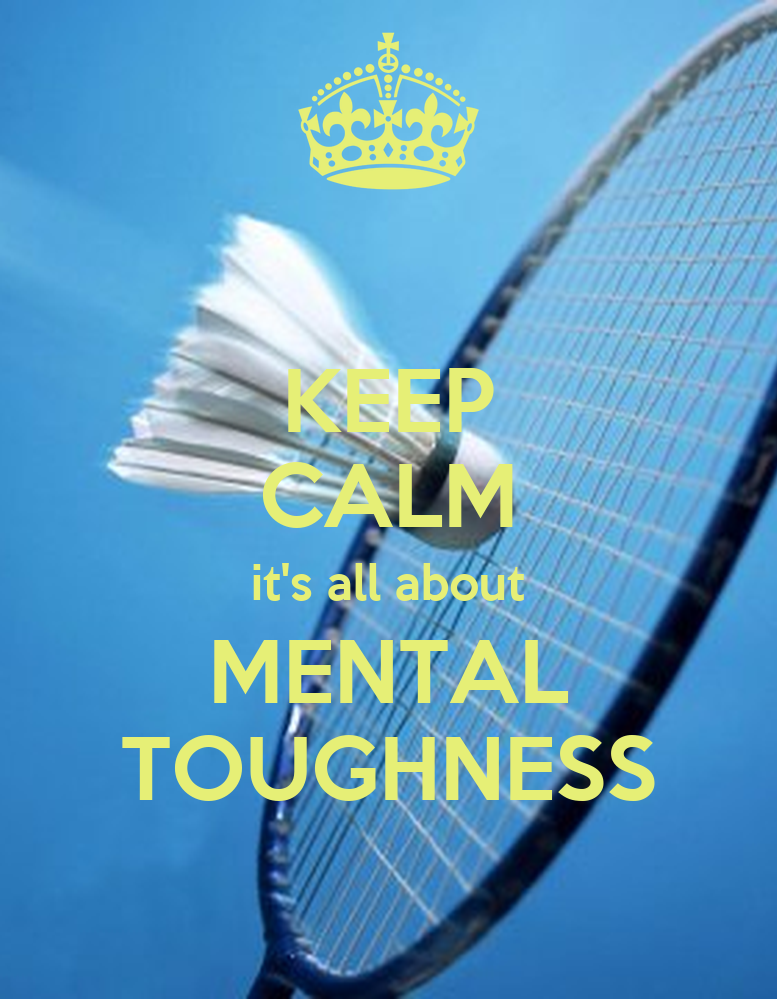 Maintain Mental Focus Now: KEEP CALM It's All About MENTAL TOUGHNESS Poster
