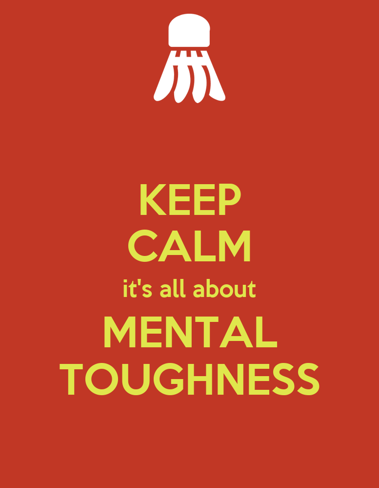 Maintain Mental Focus Now: KEEP CALM It's All About MENTAL TOUGHNESS