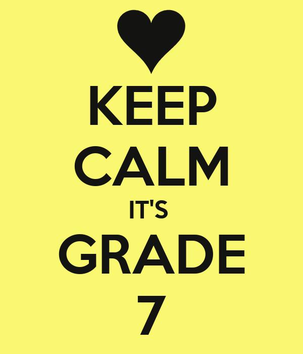 keep calm it s grade 7 poster melisa keep calm o matic