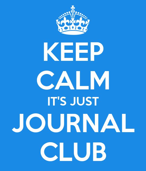 Resultado de imagen de journal club
