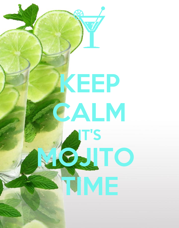 Keep Calm It S Mojito Time Poster Ilaria Keep Calm O Matic