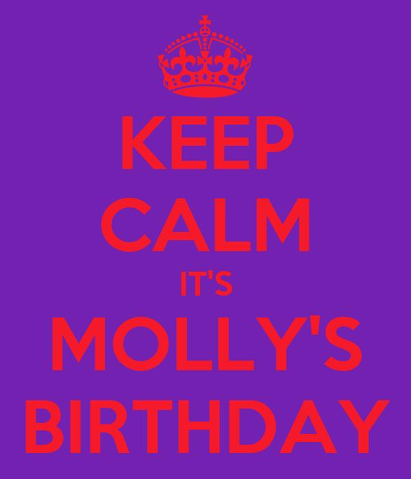 Happy Birthday Molly Cake Images