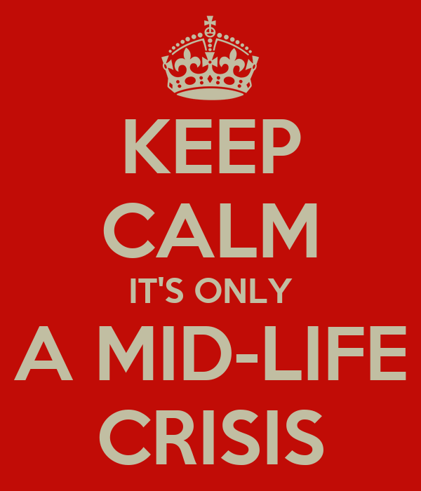 mid life crisis in minority report Research suggests the mid-life crisis is largely a myth, almeida explains very few people report having some definable crisis that's due to their age that's not to say that middle-aged people don't experience crises, but they tend to be brought on by a major life transition, not necessarily by age alone, says almeida.