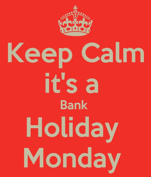 bank holiday - photo #19