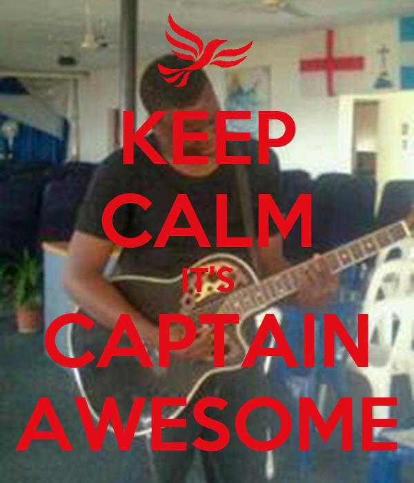 Captain Awesome Travel Mug