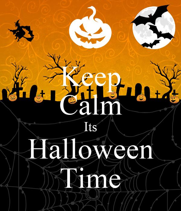 Keep Calm Its Halloween Time Poster   jade