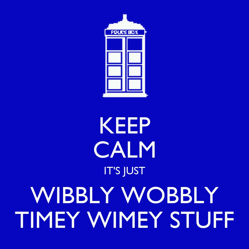 Nobody has voted for this poster yet  Why don t you Wibbly Wobbly Timey Wimey Facebook Cover