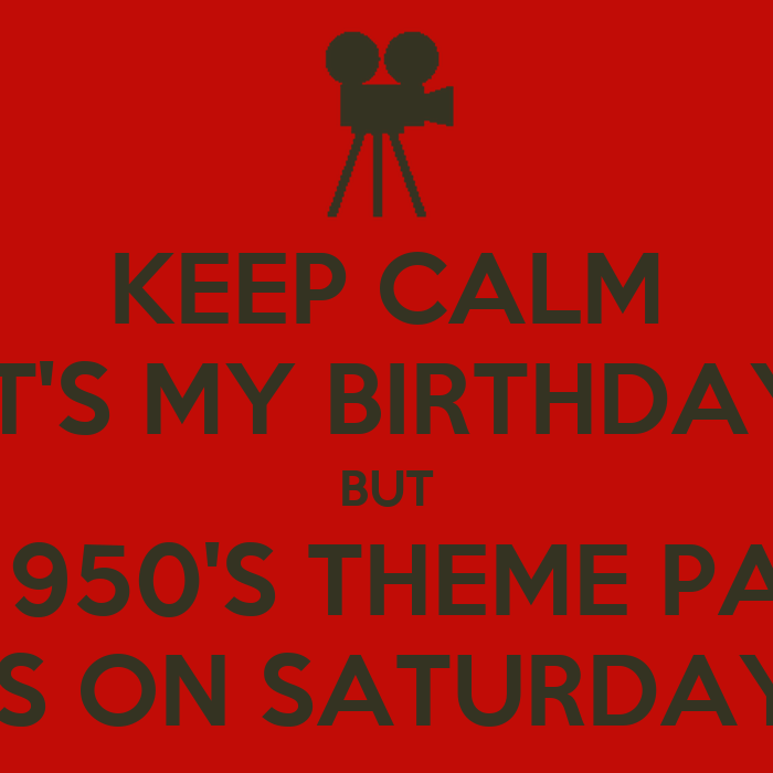 1950s Birthday Party Theme But The 1950 39 s Theme Party