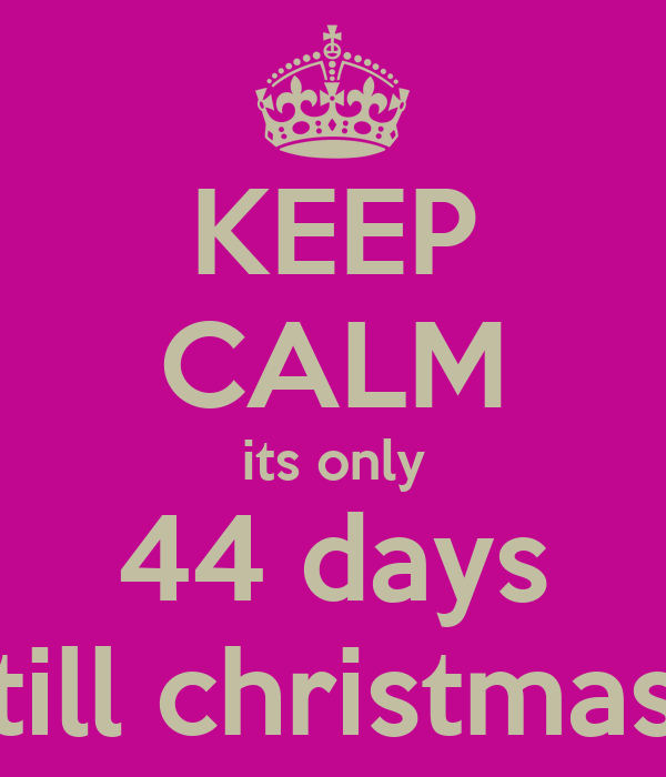 Days Till Christmas Uk.Yikes It S How Many Days Until Christmas Chatterbox