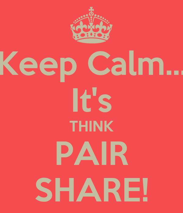 Using the Think-Pair-Share Technique