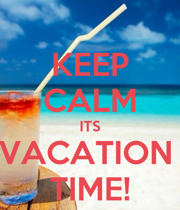 holiday and vacation time