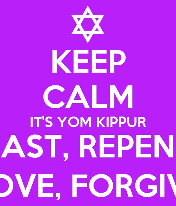 Judaism 101: Tips for Yom Kippur Fasting