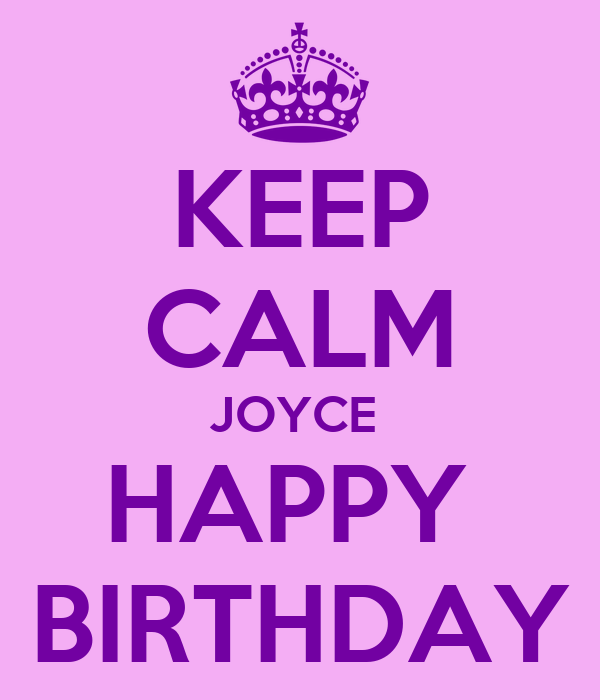 Image result for happy birthday joyce