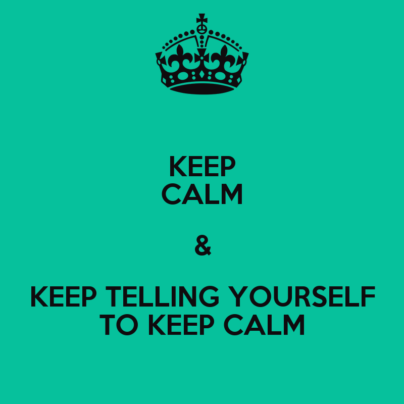 telling yourself how to feel