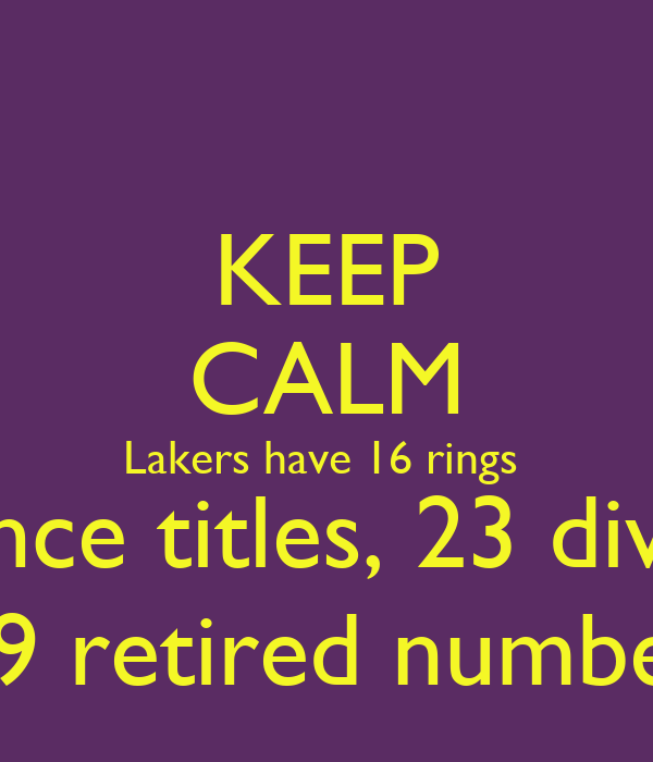 Division Numbers And Titles Titles 23 Division Titles