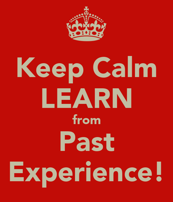 How to Transform Past Challenges Into Learning Experiences