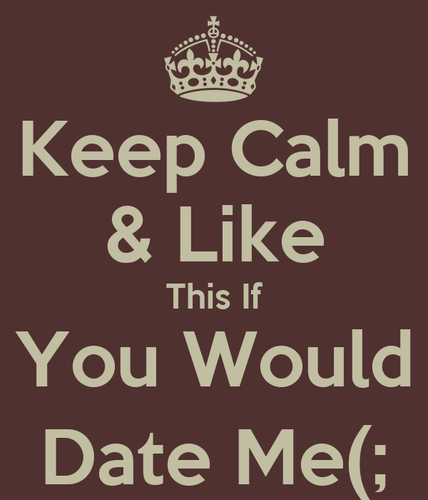 Dating you and me