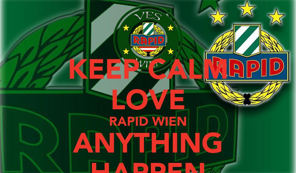 Keep Calm Love Rapid Wien Anything Happen Poster Detarogianfranco Keep Calm O Matic
