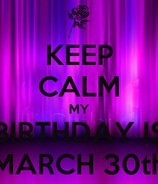 march 30 birthdays