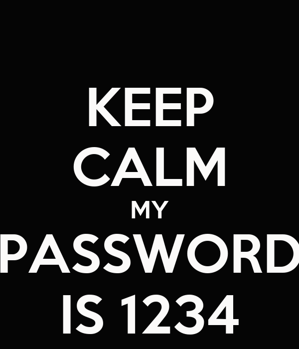 My password