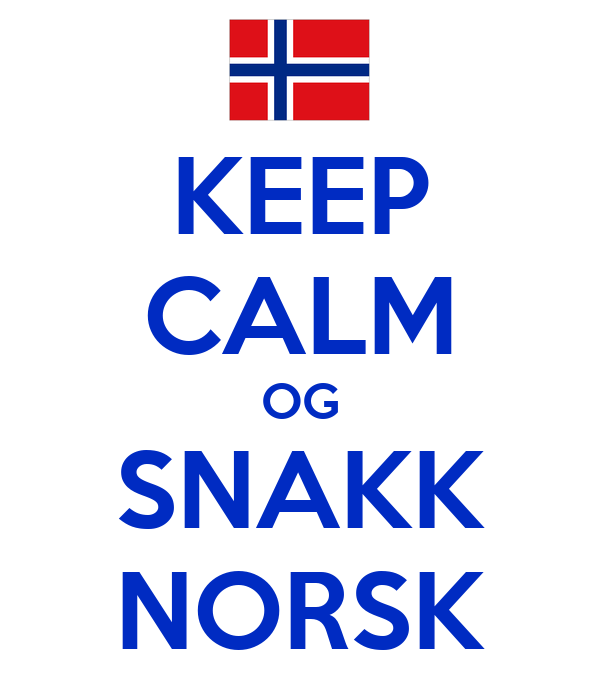 norsk o