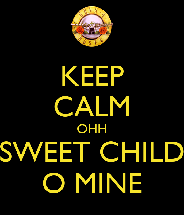 sweet child o mine pdf