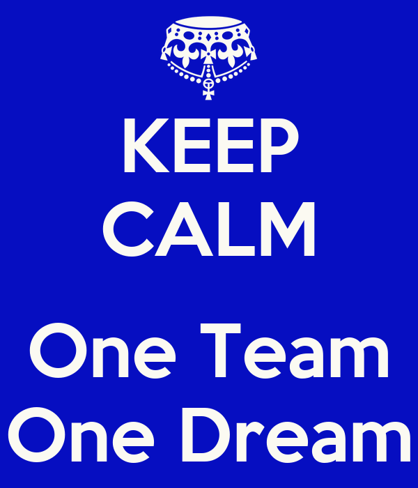 one team one dream You've heard about us, but now you get to meet each and every one of us  please flip through and pray over each member of our team as we.