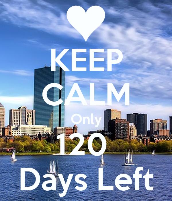 Bildergebnis für 120 days left