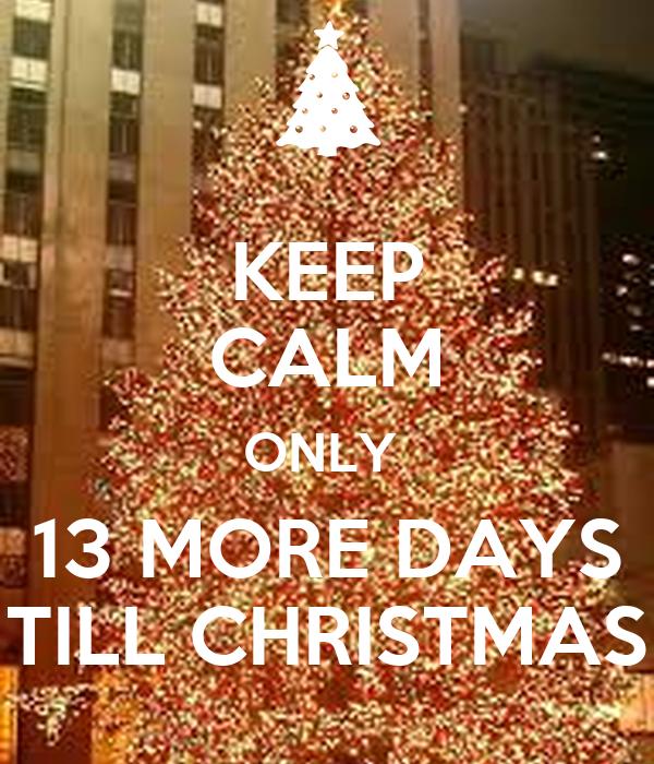 Days Till Christmas Uk.Ashmita S Blog Only 13 More Days Till Christmas