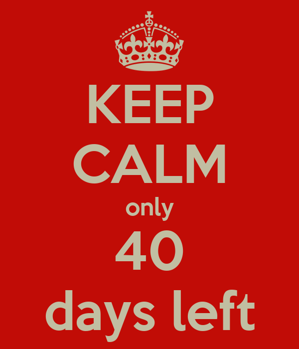 Image result for 40 days