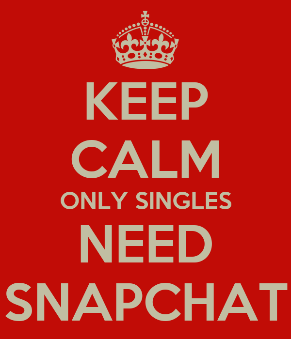 Singles only