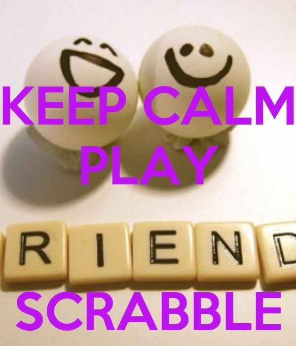 love scrabble poster
