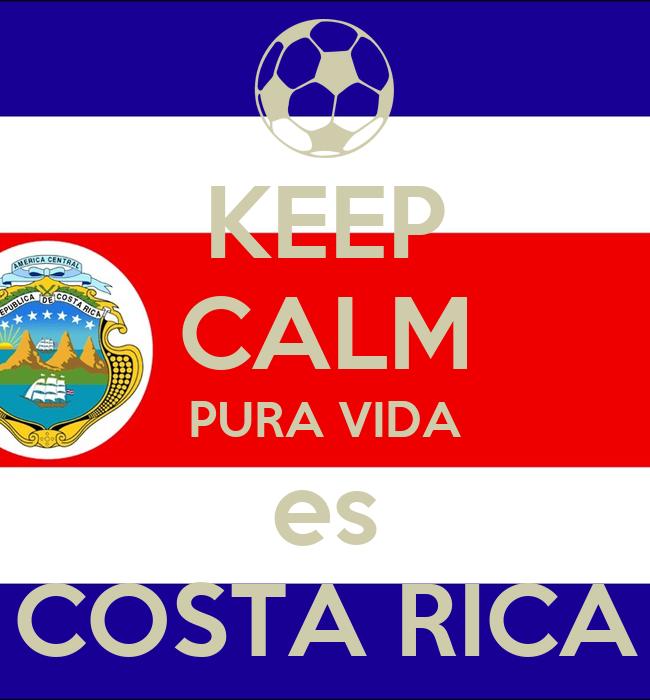 Keep calm pura vida es costa rica keep calm and carry on for Pura vida pdf