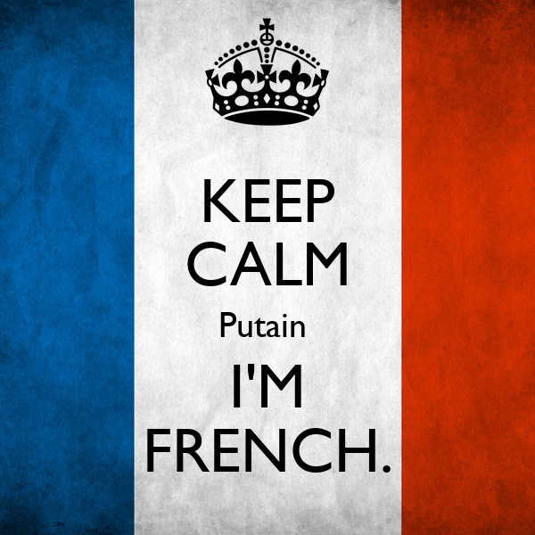 how to say im in french