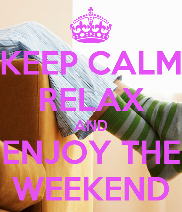KEEP CALM RELAX AND EN...