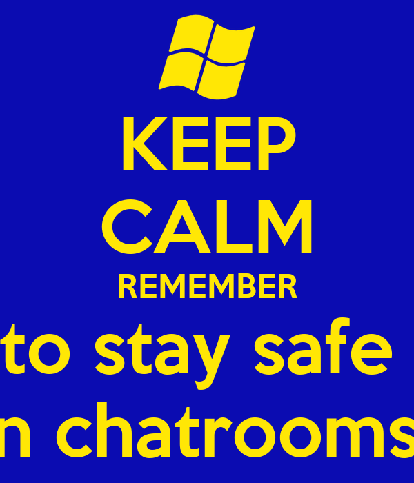 Safe chat rooms for seniors