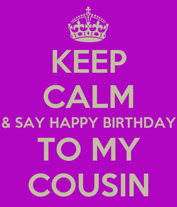 Happy Birthday Quotes Cousin ~ Happy birthday quotes for cousins quotesgram