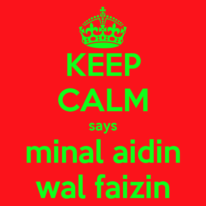 Image Result For Minal Aidin Wal Faizin