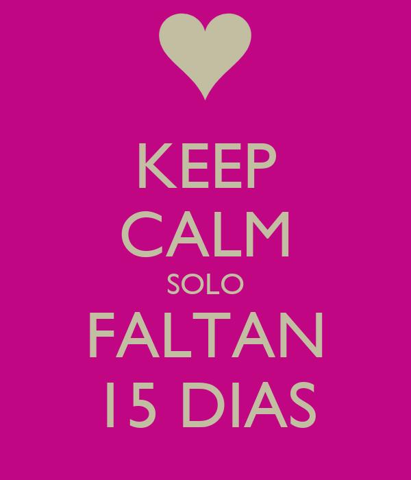 Solo Faltan 10 Dias Calm Solo Faltan 4 Dias
