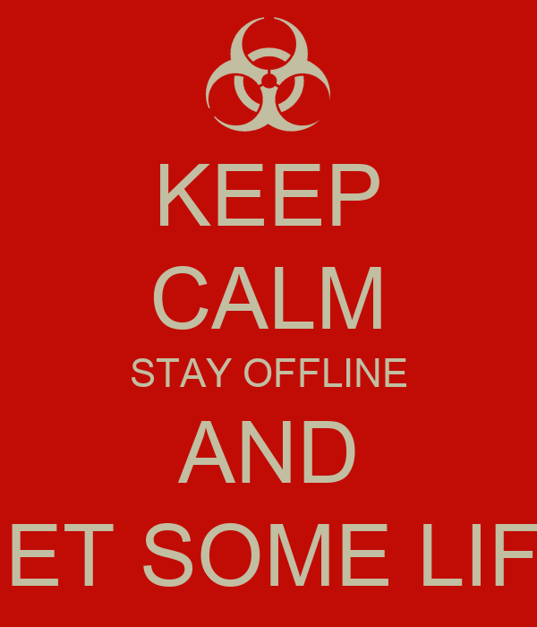 how to stay offline on facebook