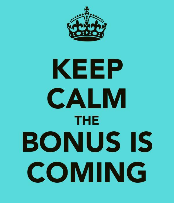 Bonus For Me