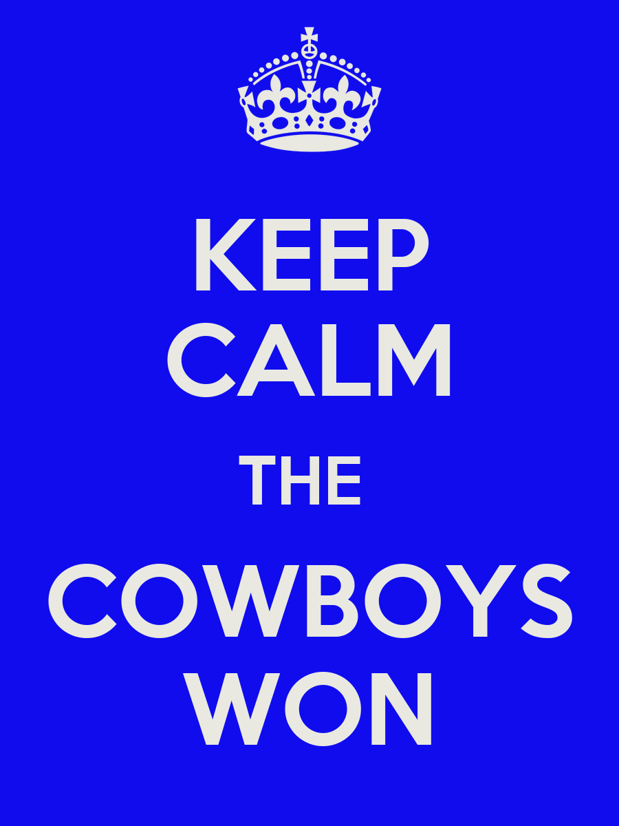 did the cowboys win yesterday