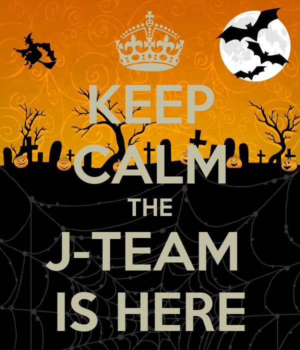 J Team KEEP CALM THE J...