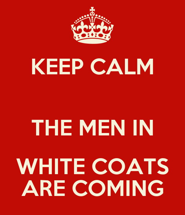 The White Coats Are Coming - Coat Nj