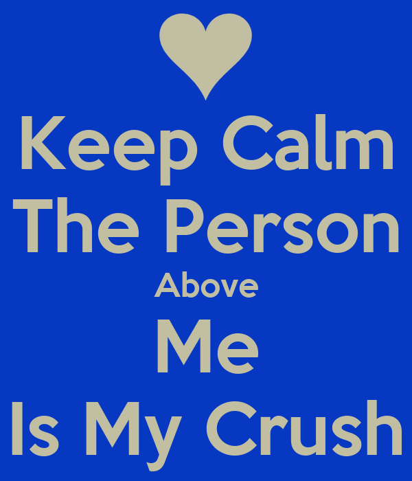 Person above me